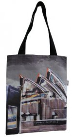 Tote Bag 40x33cm Opera House Colour