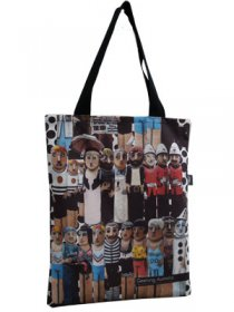 Tote Bag 40x33cm Geelong Bollards
