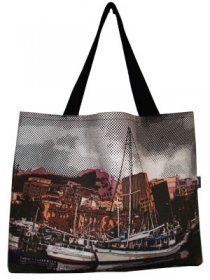 Shopper Bag 30x40x10cm Hobart Harbour