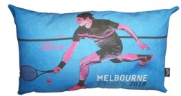 Cushion 50x30cm 2018 Roger Federer Tennis Capital of Australia