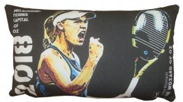 Cushion 50x30cm 2018 Caroline Wozniacki Tennis Capital of Australia