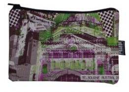 Pencil Case 18x10cm Flinders Street Green