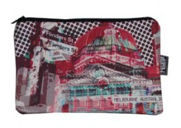 Pencil Case 18x10cm Flinders Street Red