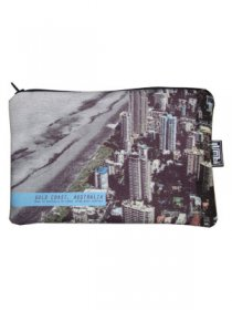 Pencil Case 18x10cm Gold Coast Beachside