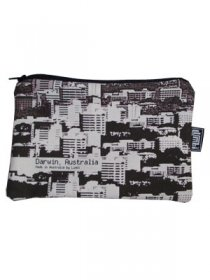 Pencil Case 18x10cm Darwin Cityscapes