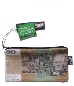 Pencil Case 18x10cm Old Money $50
