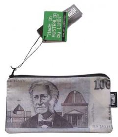 Pencil Case 18x10cm Old Money $100