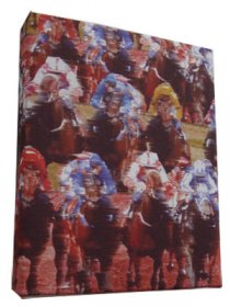 Art Canvas Small 20x25 Melbourne Cup Red