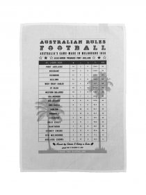 Tea Towel 50x70cm Linen/Cotton AFL Ladder 2020