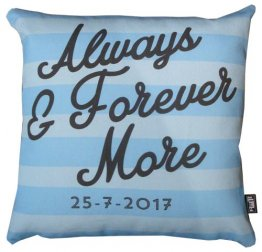 Cushion Always and Forever Blue