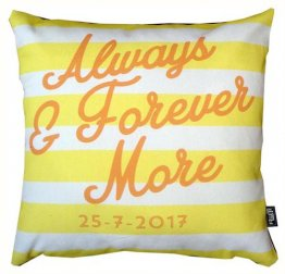 Cushion Always and Forever Yellow
