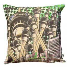 Cushion Auckland New Zealand Sky Tower Green