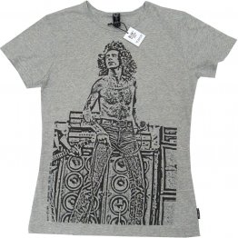 Unisex T-shirt Grey Marle Bon Scott