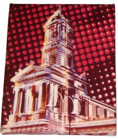 Art Canvas 20x25cm Ballarat Station