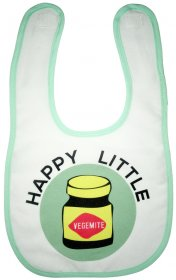 Bib Happy Little Vegemite Mint