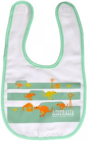 Bib Kangaroo Fun Mint