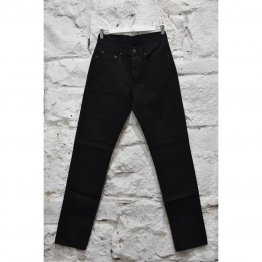 Mens Jeans Slim Rigid Black
