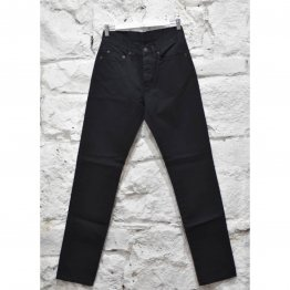 Mens Jeans Slim Rigid Vintage Black