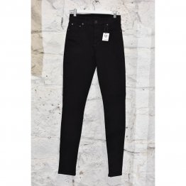 Womens Jeans Skinny Stretch Black