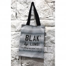 Tote Bag Blak Striped