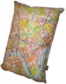 Cushion  50x35cm Brisway Full Map 519 CBD