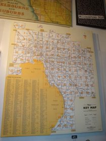 Canvas Art 100x120cm Melway Key Map