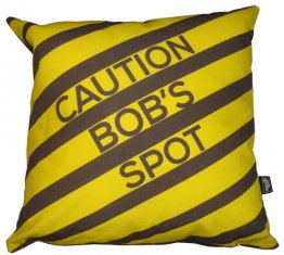 Cushion Personalised Caution Spot