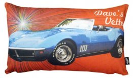 Cushion 50x35cm Personalised Corvette