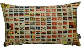 Cushion 50x30cm International Flags