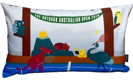 Cushion 50x30cm The Outback Australian Open