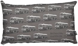 Cushion 50x30cm Trams Grey