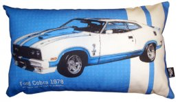Cushion 50x30cm Ford Cobra 1978