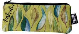 Glasses Case 19x8cm Gum Leaves
