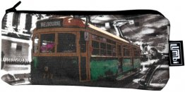 Glasses Case 19x8cm Lucky Tram