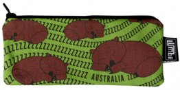 Glasses Case 19x8cm Sleeping Wombats