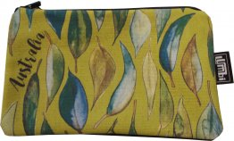 Pencil Case 18x10cm Gum Leaves