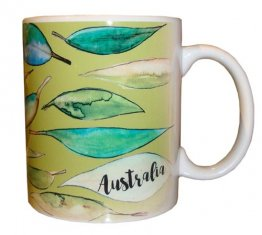 Mug Gum Leaves