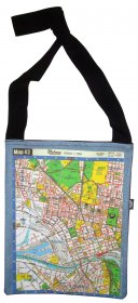 Hipster Bag 33X40cm Melway Maps for most suburbs