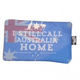 Pencil Case 18x10cm I Still Call Australia Home Flag