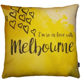 Cushion I'm So In Love with Melbourne