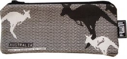 Glasses Case 19x8cm Kangaroo Dots
