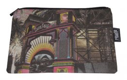 Pencil Case 18x10cm Amusing St.Kilda Luna Park Red