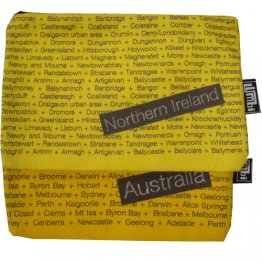 My Two Worlds Pencil Case 18x10cm Australia & Northern Ireland