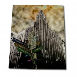 Canvas Art 100x120cm Manchester Unity Building