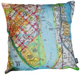 Cushion Brisbane Map 64