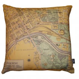 Cushion Melbourne Survey Map 1956