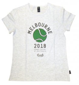 T-Shirt Melbourne Tennis Capital 2018
