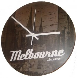 Clock 27cm Melbourne Since 1835