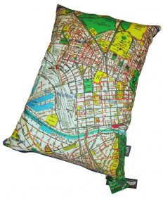 Cushion  50x35cm Melway '66 Full Map