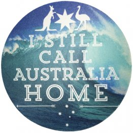 Mouse Pad Still Call Australia Home Wave